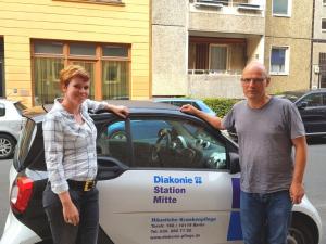 Diakonie-Station Mitte sucht Pflegefachkräfte und Pflegekräfte