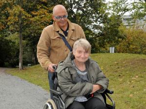"""""""Gemeinsam unterwegs in Marzahn-Hellersdorf"""" Klienten des Mobilitätshilfedienstes Diakonie Marzahn Hellersdorf"""
