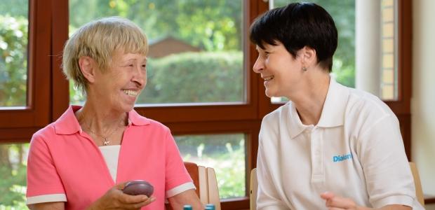 Diakonie-Stationen bieten Betreuungs-und Entlastungsangebote